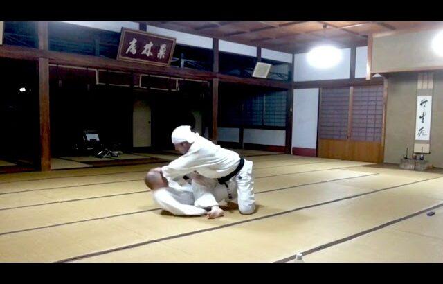 空手道禅道会大阪・兵庫道場  寝技練習の模様 2021.7.2