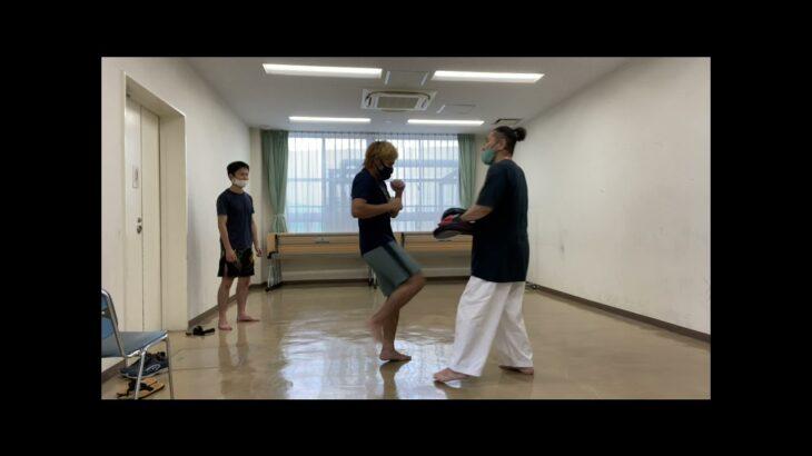 20210725武道空手MMA選手稽古会