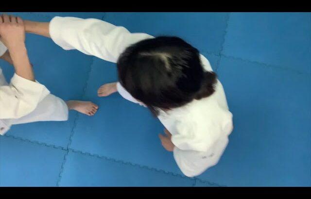 #NHKあさイチで紹介された合気道。心身統一合氣道所沢航空公園教室は毎週土曜日午前10時から11時までお稽古中!#肩取り一教入身公開中。