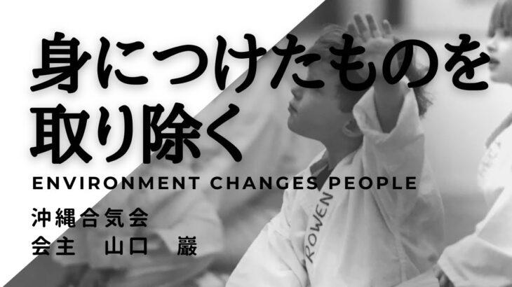 【合気道】身に付けたものを取り除くRemove what you get沖縄合気会山口巖aikido in okinawa,japan yamaguchi iwao 身体の使い方 精神 修行