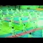 1995年『沖縄空手古武道世界大会・プレ大会』高校空手道部演武(山口正舟撮影)