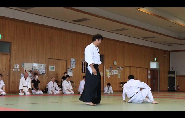 Meishinryu Aikido techniques 明真流 合気道の稽古 2021 0808-01