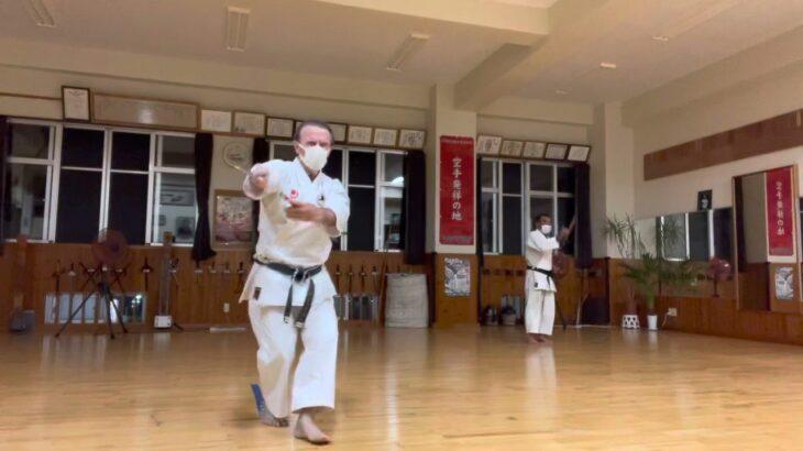 Monday August 23, 2021 総本部稽古 #信武舘 #古武道 #karate #shimbukan #okinawa #空手 #kobudo #沖縄