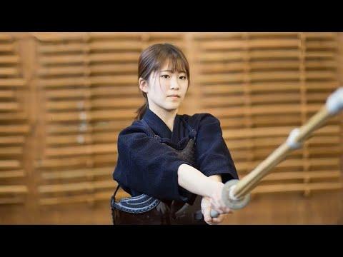 【剣道女子】無邪気な可愛さと武道家らしい気品を兼ね備えた美人剣士 立教大 河嶋香菜子