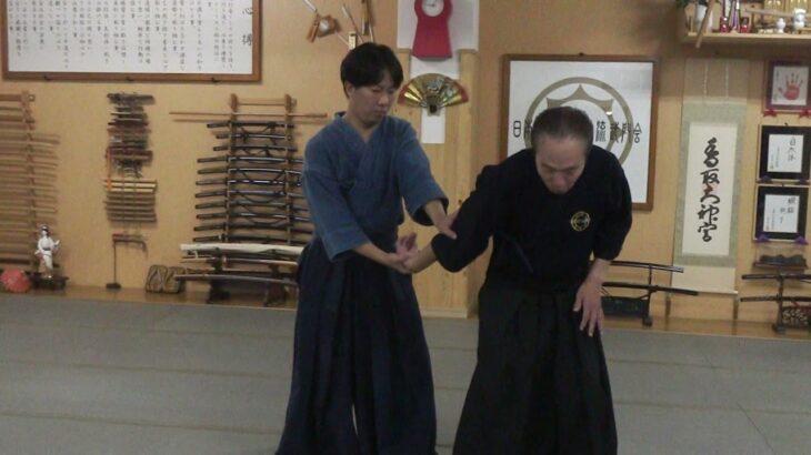 古武道 大東流合気柔術武門会 関節取りの返し技