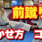 前蹴り 蹴り方 コツ /総合格闘技 空手道禅道会 小金井道場