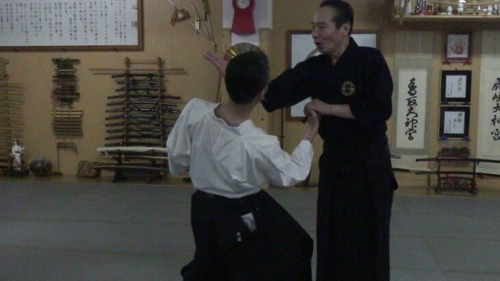 古武道 大東流合気柔術武門会10/3(日)武道セミナーの一コマを公開します。