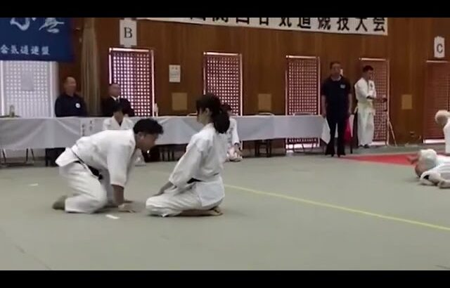 富木合気道 古流第三の形座り技8本+3本 大会演武