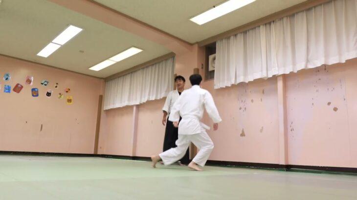 Meishinryu Aikido techniques 明真流 合気道の稽古 2021 1007