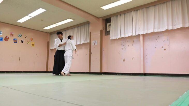 Meishinryu Aikido techniques 明真流 合気道の稽古 2021 1012
