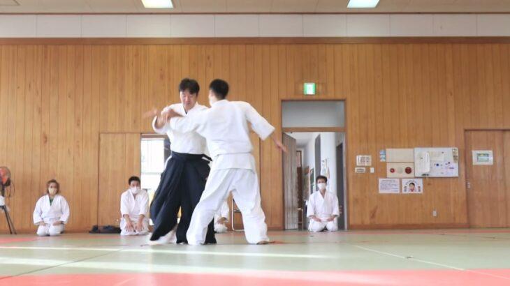 Meishinryu Aikido techniques 明真流 合気道の稽古 2021 1017