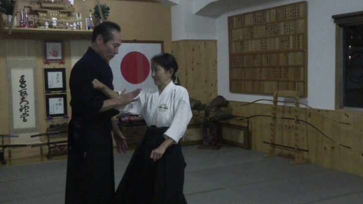 古武道 大東流合気柔術武門会 基本技とその応用。